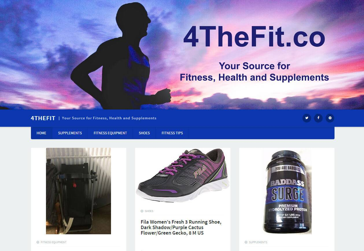 4TheFit.net | Developed by JTag Internet Design