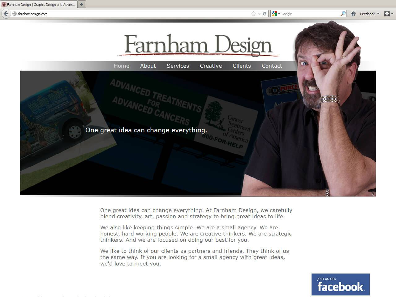 Farnham Design | Developed by JTag Internet Design