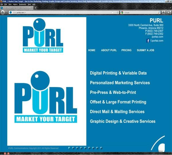 PurlAZ.com | Developed by JTag Internet Design